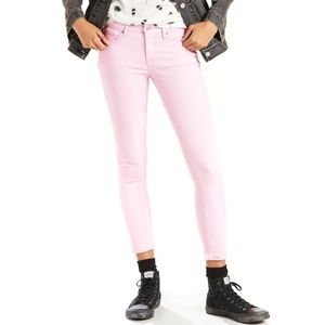 Levi's 711 Ankle Skinny Jeans in Pink